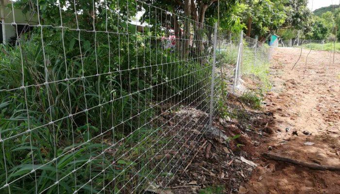ตัวอย่างที่ 5 การใช้งานรั้วล้อมสวน