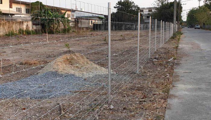 ตัวอย่างที่ 2 การใช้งานรั้วล้อมที่ดิน