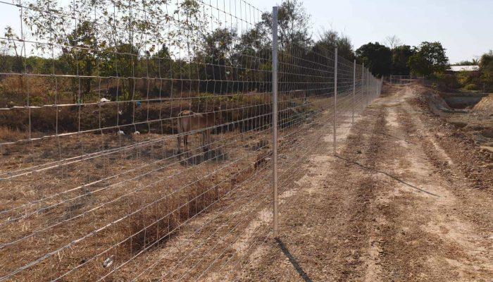 ตัวอย่างที่ 4 การใช้งานรั้วล้อมที่ดิน