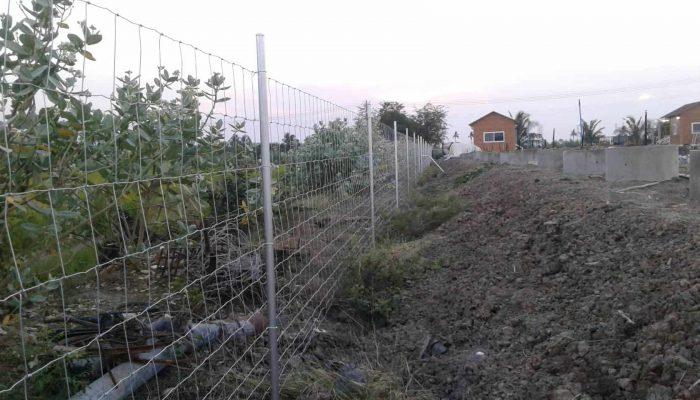 ตัวอย่างที่ 3 การใช้งานรั้วล้อมสวน